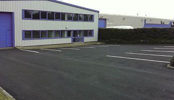 Tarmaced Car Park and Driveway at Industrial Unit by Whittaker Paving